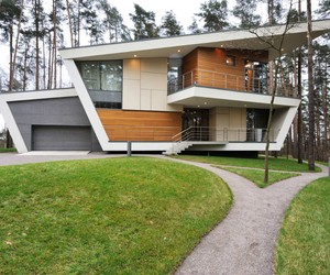 Contemporary House X Atrium Architect