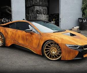 BMW I8 Rust Wrap