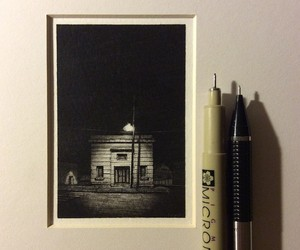 Miniature Drawings of Urban Landscapes by T.Mazer