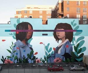 """Kindred"" Mural by Artist Sabek in Washington DC"