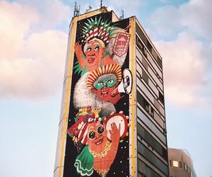 Giant Mural by Marina Capdevila in Belo Horizonte