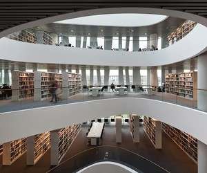 Contemporary University of Aberdeen Library