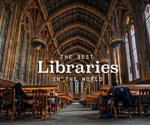 The Coolest Libraries on Earth