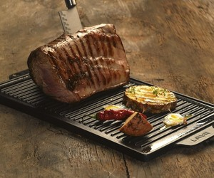 Lodge Cast-Iron Reversible Grill/Griddle