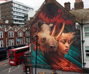 Mural by Sonny Sundancer in London