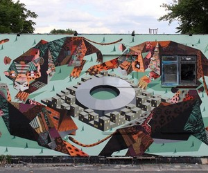 New Mural by Low Bros for Urban Spree // Berlin