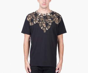 Marcelo Burlon Black Moon Brown T-Shirt