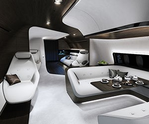 Mercedes-Benz Reveals New Luxury Aircraft Design