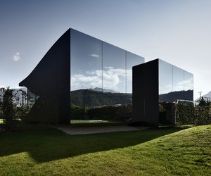 Mirror Houses South Tyrol by Peter Pichler Arch