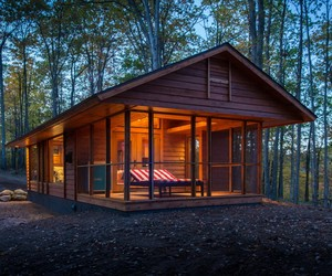 The Mobile Escape Cabin