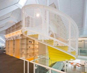 St Denys du Plateau Church reinvented as a Library