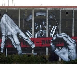 Mural by Street-Artist MTO in Lexington/Kentucky