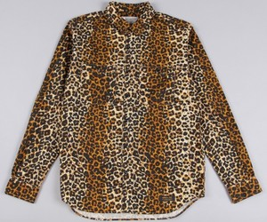 NEIGHBORHOOD HEAD LIGHT L/S SHIRT - LEOPARD
