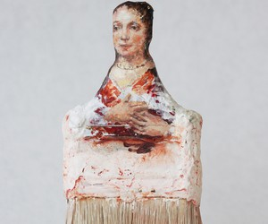 """Paintbrush Portraits"" by Rebecca Szeto"