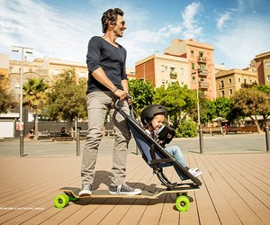 Quinny Longboard Stroller Lets You Get Around With