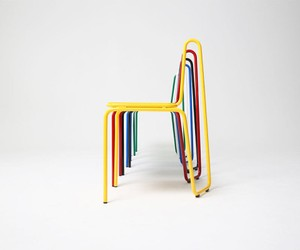 Pure color with this chair