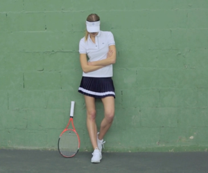 Video: Constance Jablonski Plays Tennis