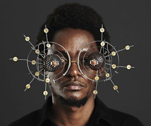 Sculptural Eyewear Produced From Found Objects