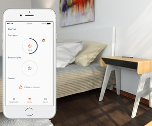 Secure Belongings with Curvilux Smart Nightstand