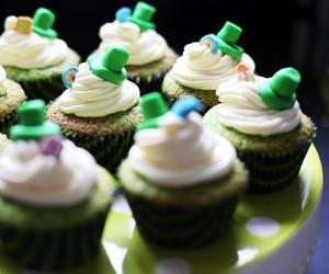 Shamrock Lucky Charm Cupcake