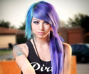 Girls With Colorful Hair