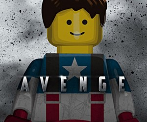 Lego Based Movie Posters