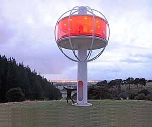 The Skysphere - a Towering Tiny House