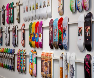 Full Collection of Supreme Skateboards at Sothebys
