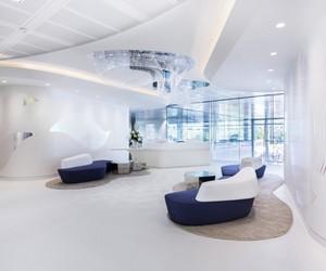Swarovski's London HQ – Very White & Shiny
