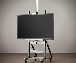 Gunmetal TV Easel