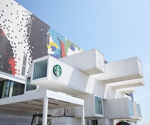 Starbucks Opens Container Store In Taiwan