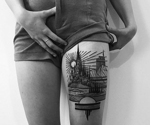 """Art with pen & ink - Tattoos of """"Thieves of Tower"""""""