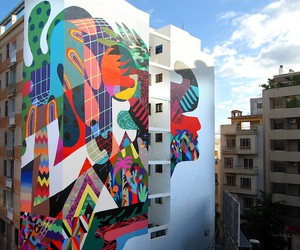 Pop Elements & Graphic Design Inspired Murals