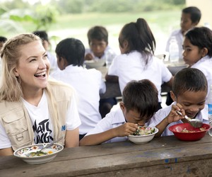 Michael Kors & Kate Hudson fighting Hunger