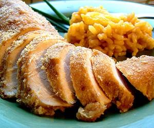 Wine & Ginger Breaded Chicken