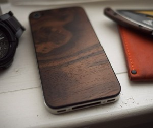 Wooden iPhone Back Plates by Material6