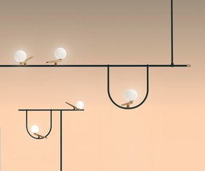 Yanzi Lamp Collection by Neri&Hu for Artemide