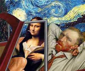 Funny Collages feat Classical Paintings-Characters