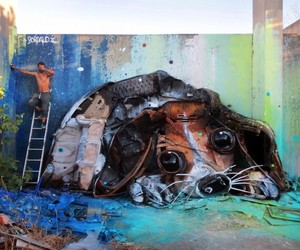 New Street Installations by Artist Bordalo II