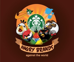Angry Brands, Angry Birds Parody