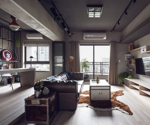 Industrial Design Bachelor's Apartment in Taiwan