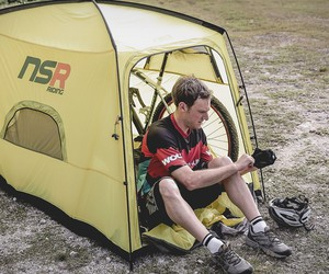 Bicycle Tour Camping Tent