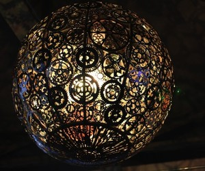 Recycled Bike Pieces Turned Into Lighting