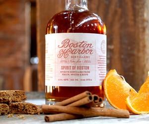 Boston Harbor Sam Adams Whiskey