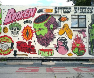 Streetart: Broken Fingaz New Mural