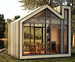 Prefabricated Design Studio Guest Home
