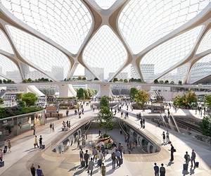 UNStudio Unveils Hyperloop Stations of the Future