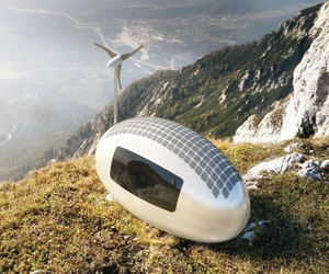 EcoCapsule Solar Powered Tiny Home