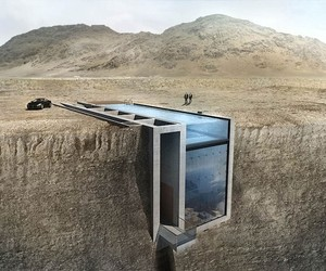 Casa Brutale – A House hidden in a Cliff