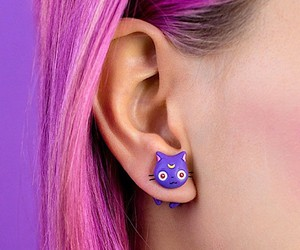Cute jewelry in cat design